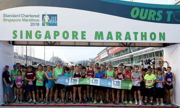 2020新加坡渣打马拉松(跑团邦)
