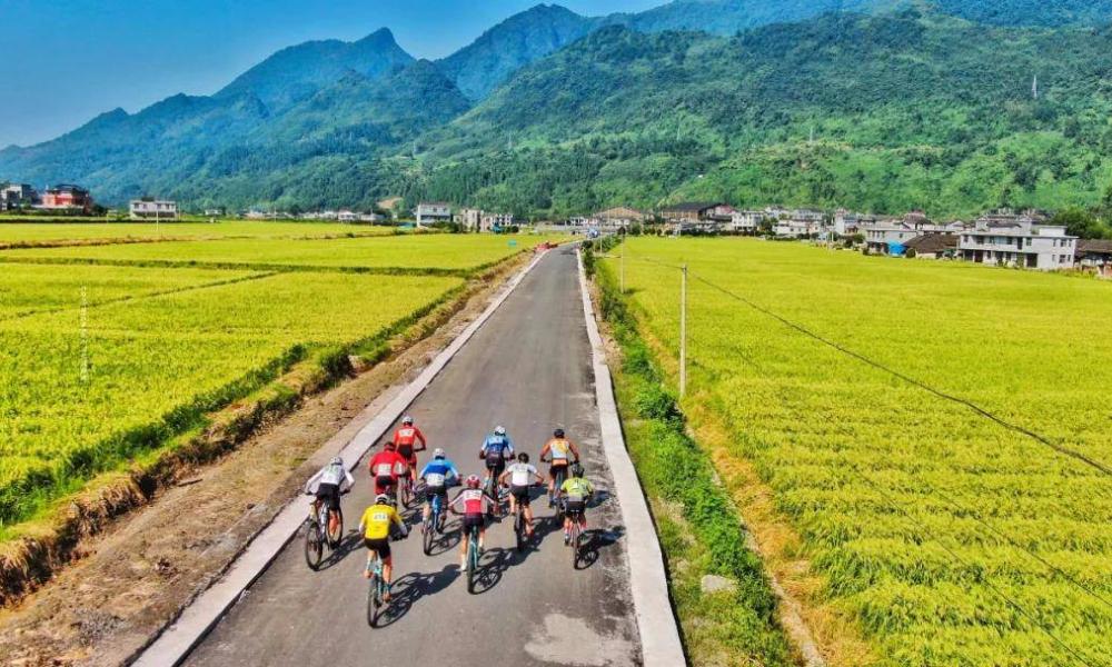 """2021""""大美里耶·云端上的骑行""""八面山自行车邀请赛"""
