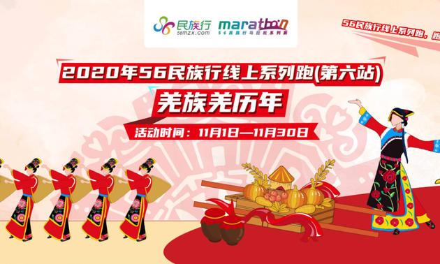 2020年56民族行线上系列跑·羌族羌历年(第六站)