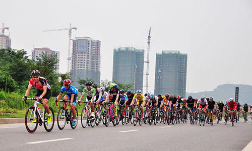2015川渝捷安特自行车业余联赛(成都站)