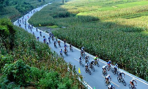 """第三届环""""千户土家""""全国山地自行车邀请赛"""