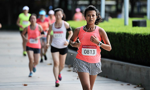 DAZZLE FASHION RUN 第二届上海女子10K跑