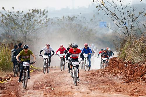"2015""Kinesis杯""四川山地自行车联赛第二站华阳"