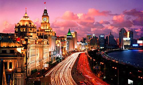 """""""夜上海、荧光夜""""跑遍上海十大最美夜景(外滩)"""