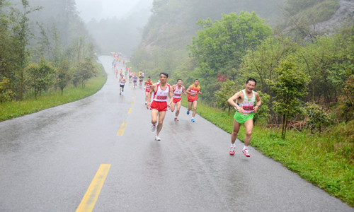 2015第三届中国矿业大学校园半程马拉松赛