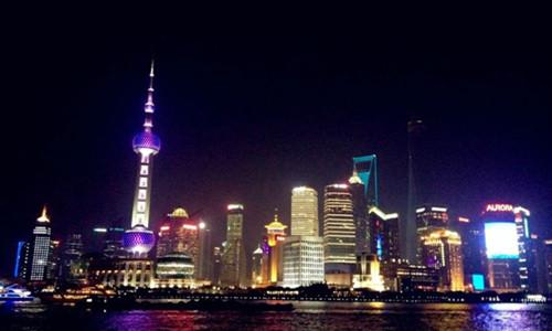 跑遍上海十大最美夜景第五夜.梦开始的地方(世纪公园站)
