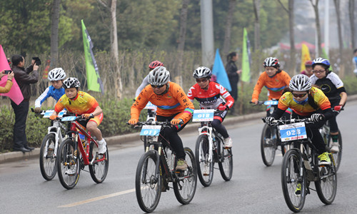 2015年赣州市第二届自行车赛