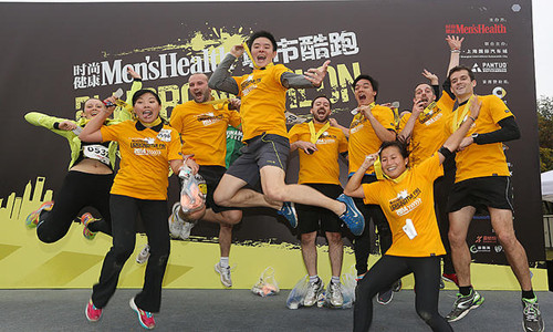 URBANATHLON广州站城市酷跑赛