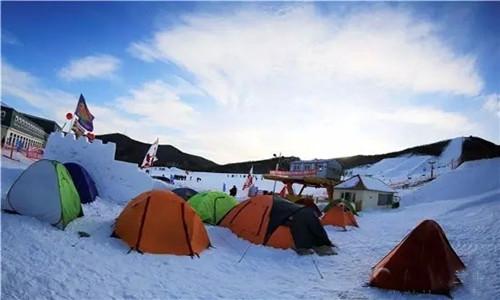 2015中国冰雪那达慕暨呼伦贝尔第七届金龙山滑雪节