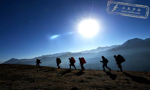 三夫16年元旦活动:三奥雪山深处的秘境,谷巴多山脊徒步