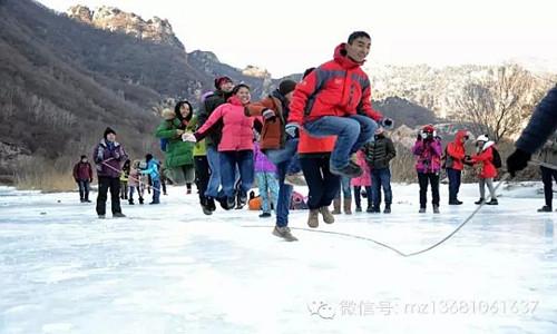 新年第一脚-白河踏冰活动