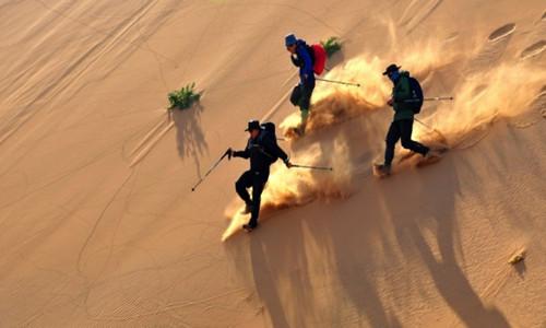 中国第七大沙漠原生态徒步穿越【第71期】