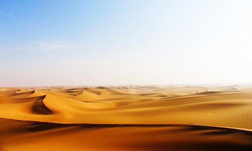 激情豁沙 纵横驰骋 2016年第一次沙漠集合活动