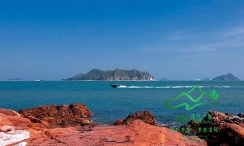 周日深圳穿越醉美红排角海岸线