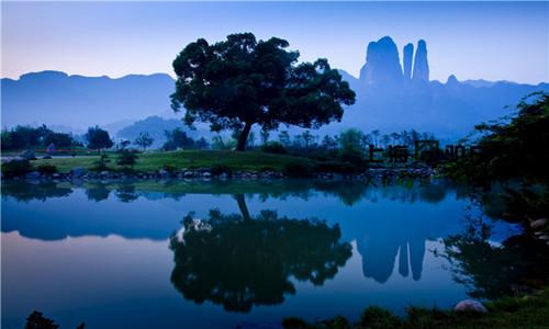 世界自然遗产江郎山后山穿越活动