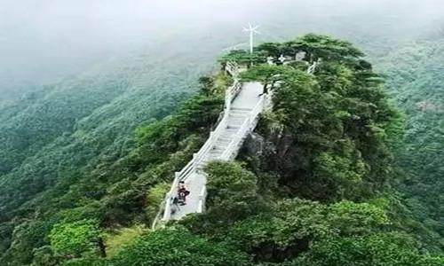 徒步韶关南岭森林公园