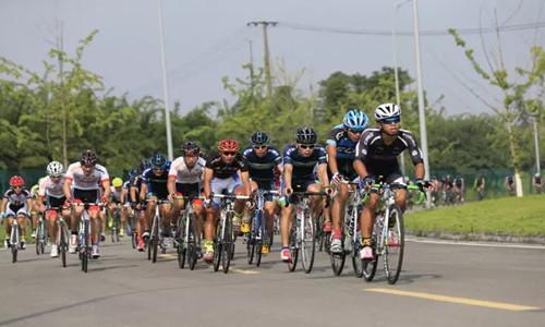 2016环青海湖自行车联赛(成都站)