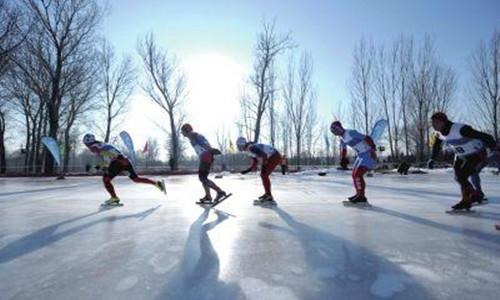 全国大众速度滑冰马拉松公开赛